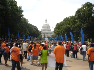 HCAN Rally for Health Care heats up DC!